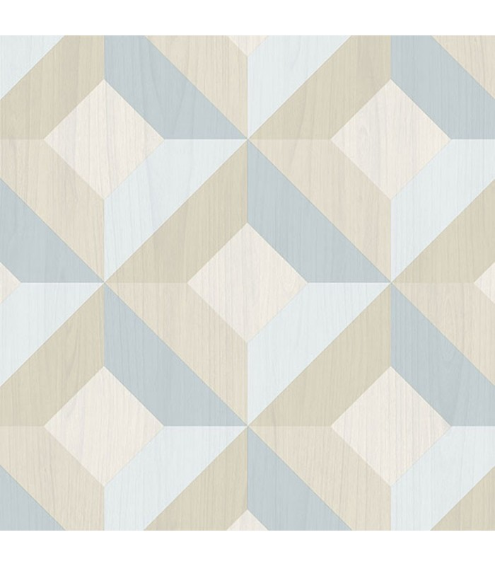 Ck36618 Creative Kitchens Wallpaper By Norwall Wood Inlay