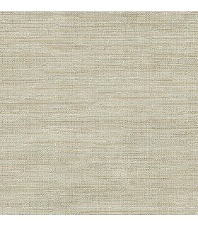 FD23284 - Brewster Essentials Wallpaper-Woven Beige Faux Grasscloth