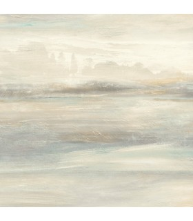 SO2432 - Tranquil Wallpaper by Candice Olson-Soothing Mists Scenic