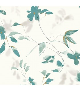 SO2440 - Tranquil Wallpaper by Candice Olson-Linden Flower