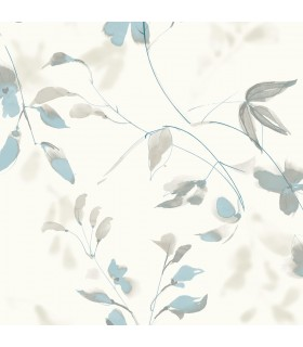 SO2441 - Tranquil Wallpaper by Candice Olson-Linden Flower