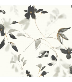 SO2442 - Tranquil Wallpaper by Candice Olson-Linden Flower