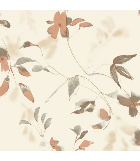 SO2445 - Tranquil Wallpaper by Candice Olson-Linden Flower