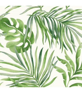 SO2450 - Tranquil Wallpaper by Candice Olson-Paradise Palm