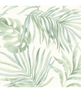 SO2452 - Tranquil Wallpaper by Candice Olson-Paradise Palm