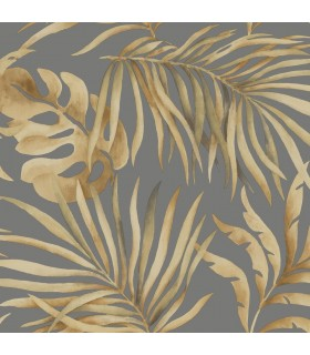 SO2453 - Tranquil Wallpaper by Candice Olson-Paradise Palm