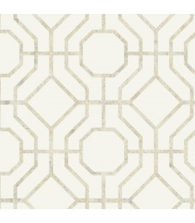 SO2460 - Tranquil Wallpaper by Candice Olson-Lanai Trellis