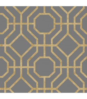 SO2464 - Tranquil Wallpaper by Candice Olson-Lanai Trellis