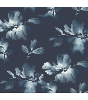 SO2470 - Tranquil Wallpaper by Candice Olson-Midnight Blooms