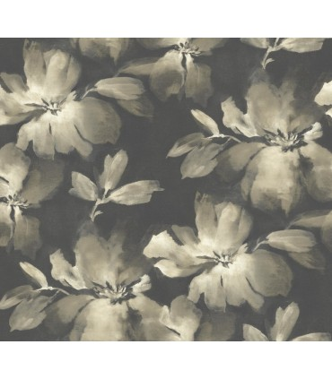 SO2471 - Tranquil Wallpaper by Candice Olson-Midnight Blooms