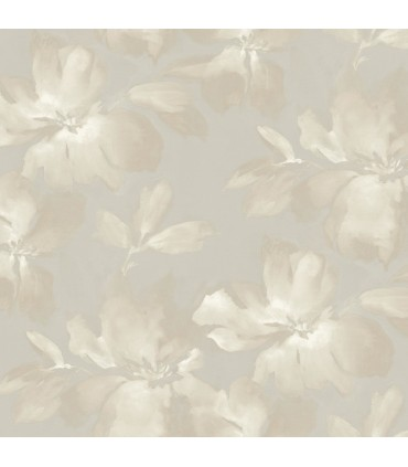SO2472 - Tranquil Wallpaper by Candice Olson-Midnight Blooms