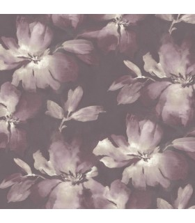 SO2473 - Tranquil Wallpaper by Candice Olson-Midnight Blooms