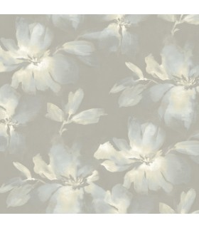 SO2474 - Tranquil Wallpaper by Candice Olson-Midnight Blooms