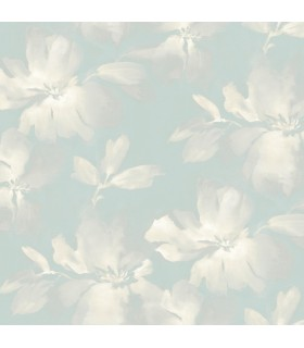 SO2475 - Tranquil Wallpaper by Candice Olson-Midnight Blooms