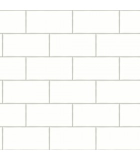 3115-12491 - Farmhouse Wallpaper-Freedom Subway Tile