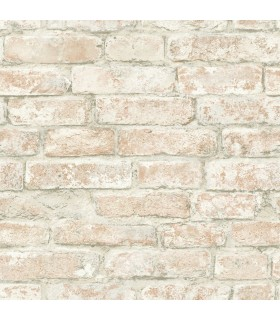 3115-12482 - Farmhouse Wallpaper-Arlington Brick