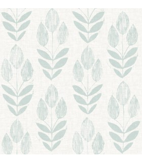 3115-24472 - Farmhouse Wallpaper-Garland Block Tulip