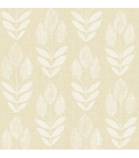 3115-24471 - Farmhouse Wallpaper-Garland Block Tulip