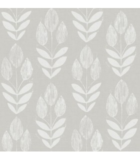 3115-24473 - Farmhouse Wallpaper-Garland Block Tulip