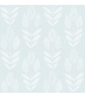 3115-24470 - Farmhouse Wallpaper-Garland Block Tulip