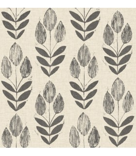 3115-24474 - Farmhouse Wallpaper-Garland Block Tulip