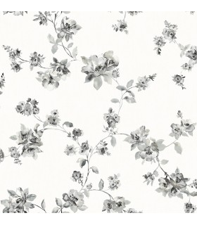 3115-24482 - Farmhouse Wallpaper-Syrus Floral