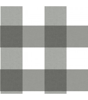 3115-12532 - Farmhouse Wallpaper-Selah Gingham Plaid