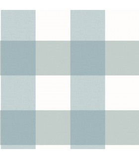 3115-12535 - Farmhouse Wallpaper-Selah Gingham Plaid