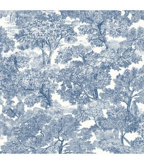 3115-12543 - Farmhouse Wallpaper-Spinney Toile
