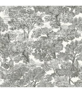3115-12542 - Farmhouse Wallpaper-Spinney Toile