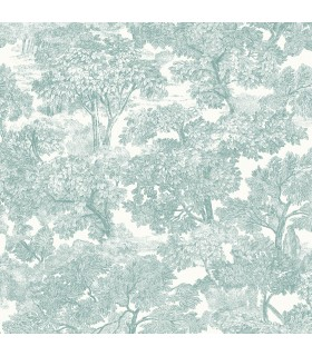 3115-12545 - Farmhouse Wallpaper-Spinney Toile
