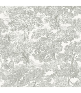 3115-12541 - Farmhouse Wallpaper-Spinney Toile