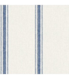 3115-12462 - Farmhouse Wallpaper-Linette Fabric Stripe