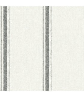 3115-12461 - Farmhouse Wallpaper-Linette Fabric Stripe