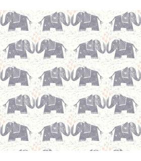 WI0103 - Dream Big Wallpaper by York - Elephants Love