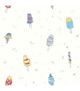 WI0105 - Dream Big Wallpaper by York - Ice Cream