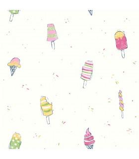 WI0107 - Dream Big Wallpaper by York - Ice Cream