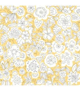 WI0120 - Dream Big Wallpaper by York - Doodle Garden
