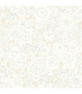 WI0122 - Dream Big Wallpaper by York - Doodle Garden