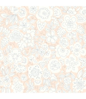 WI0123 - Dream Big Wallpaper by York - Doodle Garden