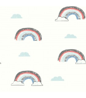 WI0132 - Dream Big Wallpaper by York - Chasing Rainbows