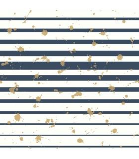 WI0180 - Dream Big Wallpaper by York - Splatter Stripe