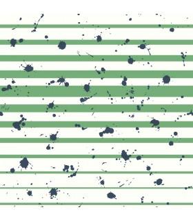 WI0181 - Dream Big Wallpaper by York - Splatter Stripe