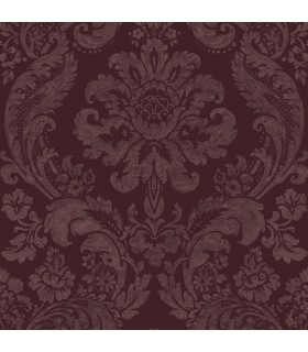 2763-87315 - Moonlight Wallpaper by A-Street Prints-Flocked Damask