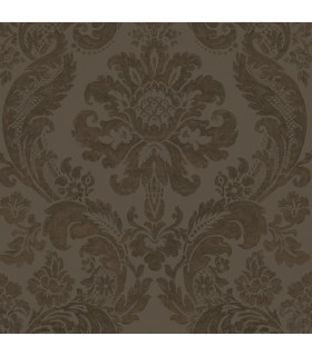 2763-87311 - Moonlight Wallpaper by A-Street Prints-Flocked Damask