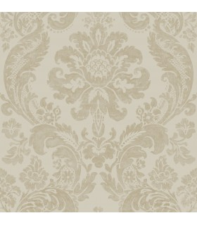 2763-87314 - Moonlight Wallpaper by A-Street Prints-Flocked Damask
