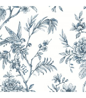 2763-24235 - Moonlight Wallpaper by A-Street Prints-Jessamine Floral