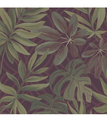 2763-24243 - Moonlight Wallpaper by A-Street Prints-Nocturnum Leaf