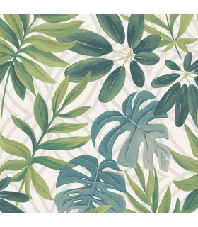 2763-24200 - Moonlight Wallpaper by A-Street Prints-Nocturnum Leaf