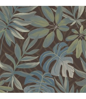 2763-24202 - Moonlight Wallpaper by A-Street Prints-Nocturnum Leaf